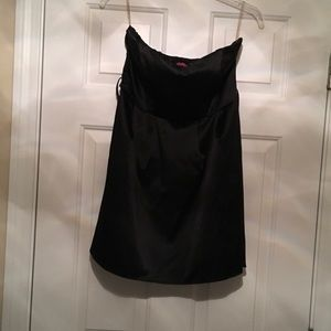 Forever 21 strapless little black dress